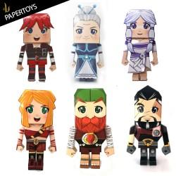 Paper toys - Legends of Luma