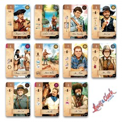 Cartes Personnage | Lewis &...