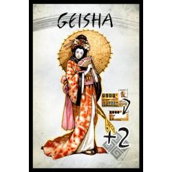 Shitenno - the Geisha card